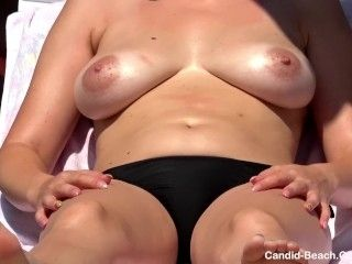 Sexy Topless Bikini cameltoe Teens beach Voyeur Spy Cam Hd Video
