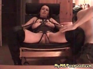 My MILF Exposed Fisting my wife dressed in sexy lingerie