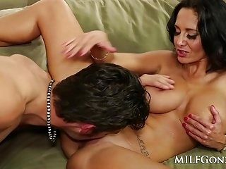 MILFGonzo Ava Adams sucks and fucks her sons friend (3)