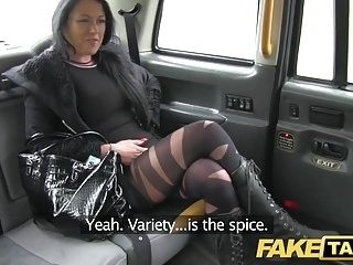 Fake Taxi Local escort fucks taxi man on her way to a client (2)
