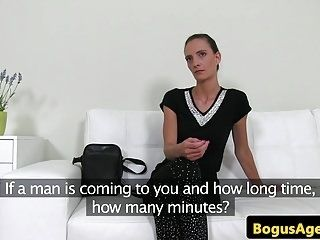 Real Casting Amateur Doggystyled At Audition (5)