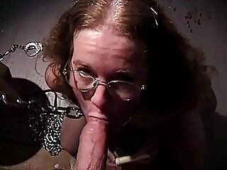 COCK WORSHIP BY SLAVE NERD