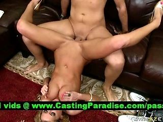 Mckenzee Miles Busty Blonde Teen Fucked And Gets Cumhoot