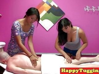 Massage Asians Tug And Grind Pussy On Client (4)
