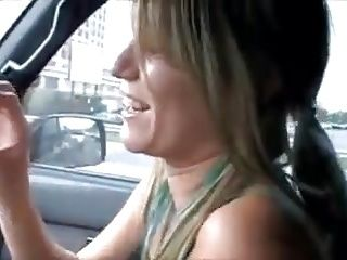 She Pissing In A Cup And Drink It In A Car
