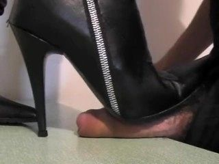 Amateur Boots Cock Crush