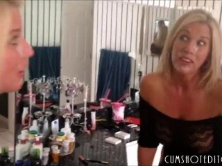 Housewife Slut Getting A Fat Facial at Home