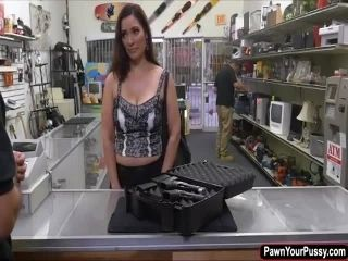 Hot busty milf fucks for some cash (2)