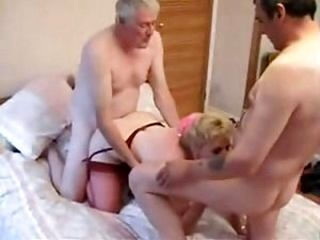 The Swinger Mature Couple With A Friend (3)