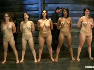 Bonded Girls Get Their Heads Wrapped And Pussies Fingered