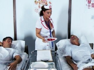 Two Patients Feel Better After Double Penetrating Their Nurse