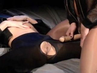 Blindfolded Beauty Gets Fuck By Strap On (81)
