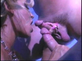 Rough threesome with the busty blonde slut Jill Kelly