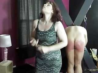 Miss Lydia Spanks Stephen for Real Discipline