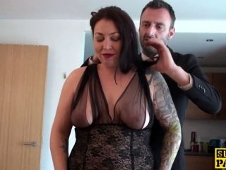 Plump Mature Skank Pussyrailed By Hard Cock (6)