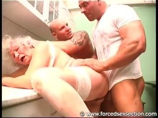 Granny Norma Raped  Mature Women & Granny Humiliated & Used