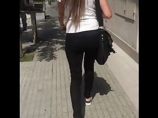 Candid Hot Tight Booty