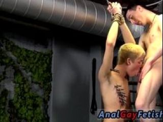 Gay sex swallow movie After getting some lessons in cock idolize and pain