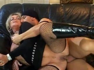 Blonde Granny Whore Prefers Fucking And Sucking Young Man Fresh Cocks !