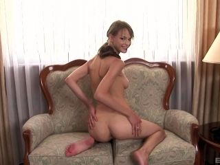 Bimbo Beata Undine places her ass on a hard dick and rides it hard