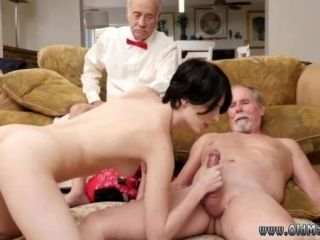 Mature outdoor first time Frannkie heads