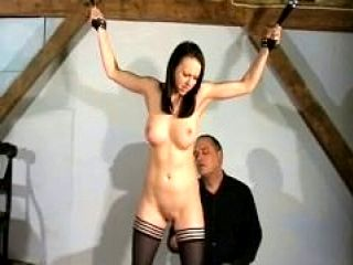 Humiliating slavery of female slaveslut Emily
