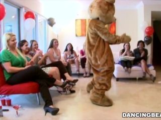 Jordan's Divorcerette CFNM Dancing Bear Party with Male Strippers (db9527) (2)