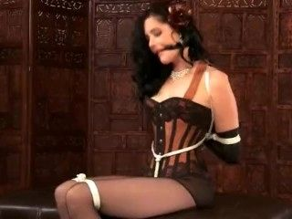 Mary Jane Green in Glamour Bondage