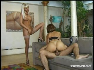 Yummy Colette And Magdalena Go Hardcore With A Blind Man