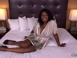 Tyra (47 year old black MILF has epic natural tits) (2)