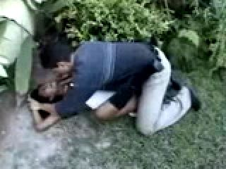Brasilian Teen Brutally Fucked In Forest by the Road