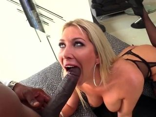 Interracial anal hardcore on the couch with Lexi Lowe (2)