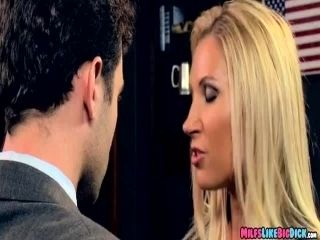 milf blackmailed Him for dick (2)