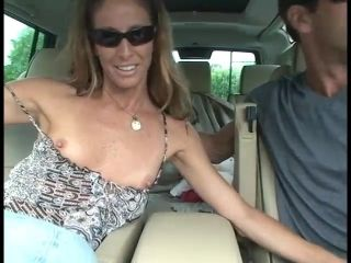 Long Hair Amateur Lady Wearing Jeans Performs Handjob And Hardcore Clothed Sex
