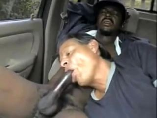Black Guy Get His Dick Sucked By A Old White Guy He Cum Twice In His Car