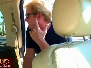 Limo Blowjob From Blonde Doll