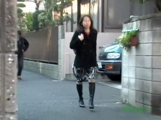 Asian Housewife Going Home Gets A Taste Of Street Sharking. (2)