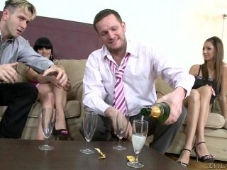 After A Few Drinks A Business Meeting Turns Into A Drunken Orgy (2)