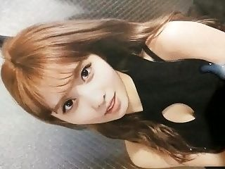 Cum tribute for Momo (Twice)