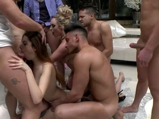 Lots of dudes are needed to please a voracious bitch Victoria Summers