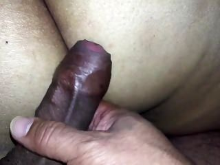 Given My BBW Mexican Girl Ass A Cock Massage