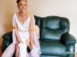 Athenian Goddess (kissing, blowjob, riding, creampie)
