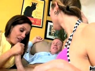 Mothers Teaching Daughters How To Suck Cock 08