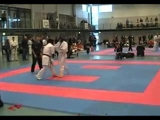 Young Norwegian brown belt fucks up some pussyass white