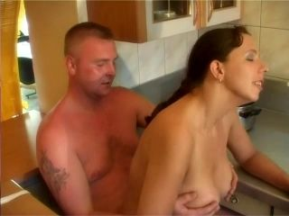 Hubby Takes Wife From Behind