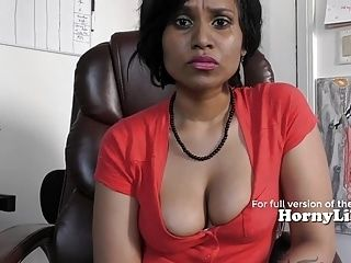 Mommy's little help (Mom son roleplay) in Hindi (2)