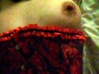 Gorgeous Wife In Corset Fucking & Playing