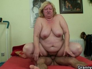 Huge Titted Granny And Boy (5)