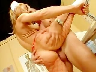 Julia taylor in nurse clothes take in the ass 1