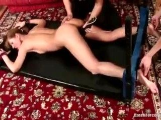 Susan Tickled and made to Orgasm